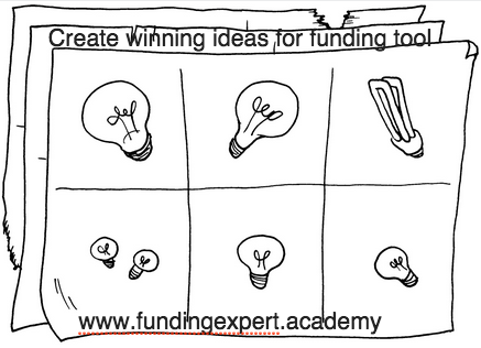 Tips for creating great ideas that lead to winning proposals for funding